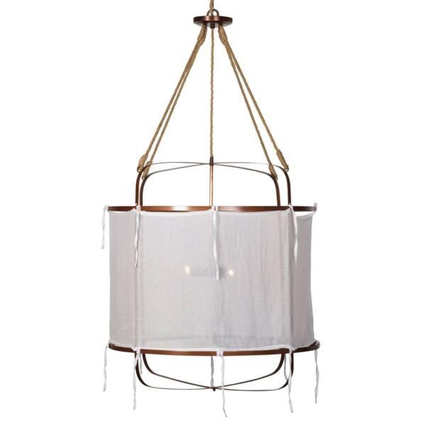 Provence linen pendant light ceiling lights gumtree australia provence linen pendant light mozeypictures Gallery