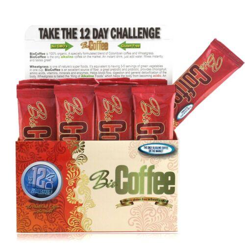 "BIO COFFEE ""THE HEALTHIEST COFFEE IN THE WORLD 16 Sachet Box"