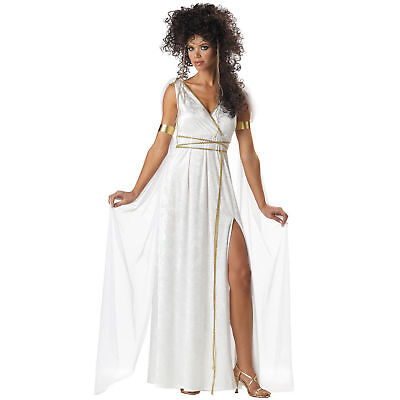 Athenian Goddess Halloween Costume Adult Womans Large 10-12 NEW