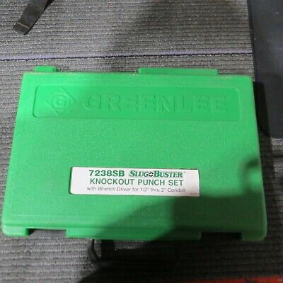 Greenlee Slug Buster 7238sb Knockout Punch Set C21
