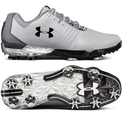 UNDER ARMOUR UA MATCH PLAY Mens Golf Shoes Cleats Spikes - Gray - Pick Size