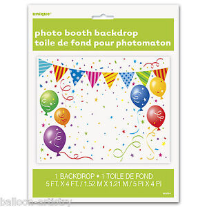 5ft Balloons Celebration Birthday Party Photo Booth Backdrop Wall Decoration