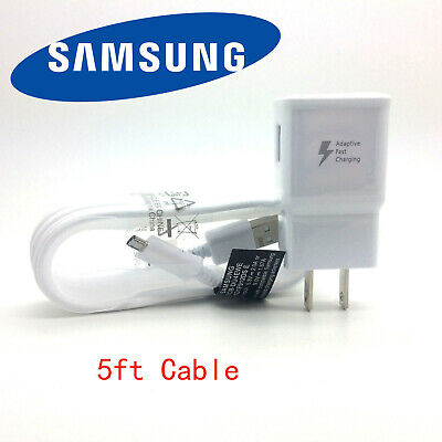 New Original Samsung Galaxy Note 5 S6 S7 J7 Edge OEM Adaptive Fast Rapid Charger