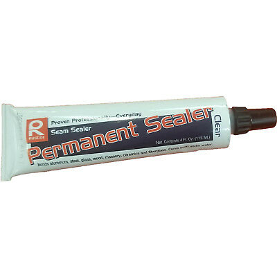 (Ruscoe Permanent Sealer - Clear - 4oz. Tube - Carton of 12)