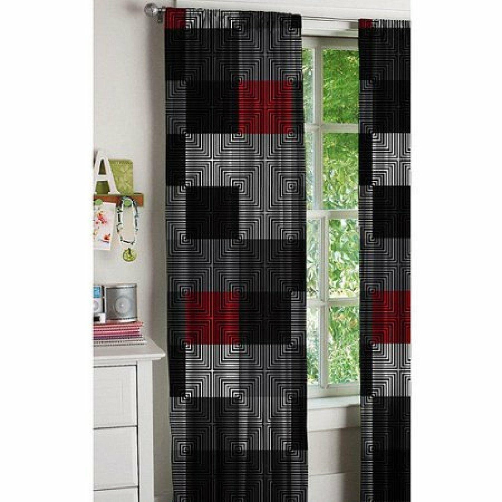 Window Curtain Panels Set Of 2 52x84