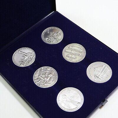 120 Gramm Feinsilber Eisenbahnmotiv Medaillen im Etui online kaufen