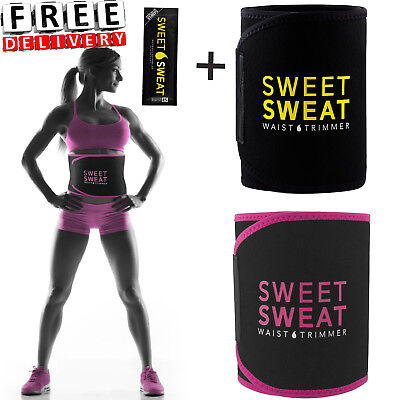 Waist Trimmer Exercise Belt Sweet Sweat Enhancer Men Women Workout Weight Loss