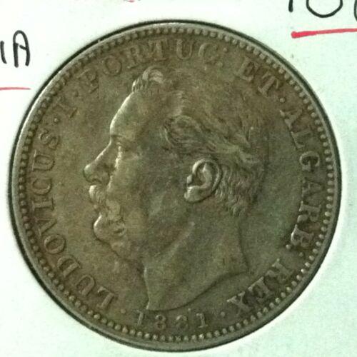 India  (Portugese GOA)  Rupia  KM 312  XF  1881
