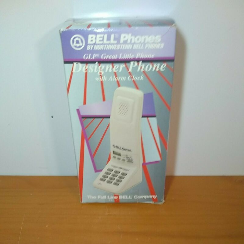 Northwestern Bell Phones Telephone The Great Little Phone Cream Clock Alarm