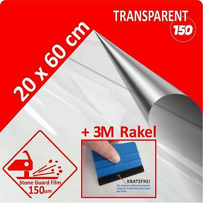 Lackschutz Folie Oraguard stone quard transparent durchsichtig 20 x 60cm + Rakel