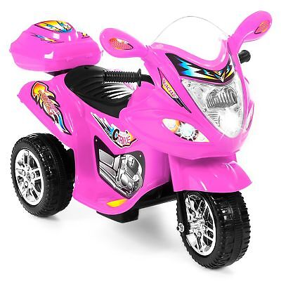 Best Choice Products 6V Kids Battery Powered Electric 3-Wheel Motorcycle ... New