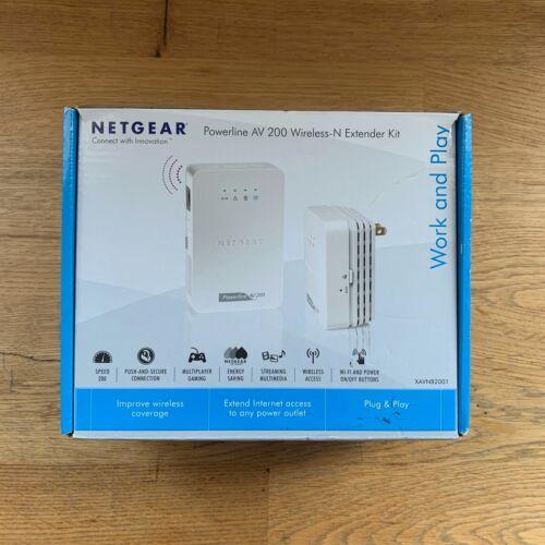 Netgear Powerline AV200 Wireless-N Extender Kit