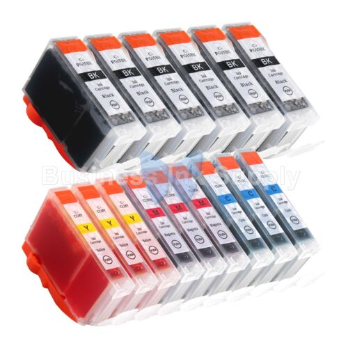 15 Pk Pgi-5 Cli-8 Ink Tank For Canon Pixma Mx700 Ip3300 I...