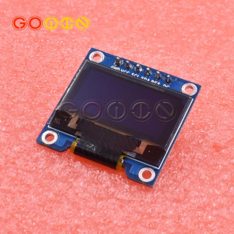 "White 0.96"" Spi Ssd1306 128x64 Oled Lcd Display Module Arduino/stm32/avr/51 New"