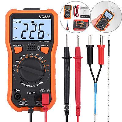 8233d Ncv Digital Multimeter Lcd Voltmeter Ammeter Auto-range Ac Dc Tester