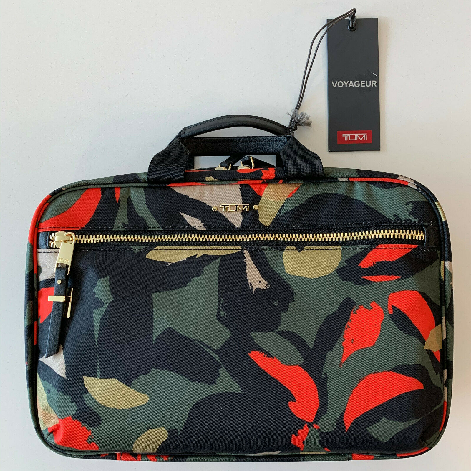 voyageur madina cosmetic bag lily abstract