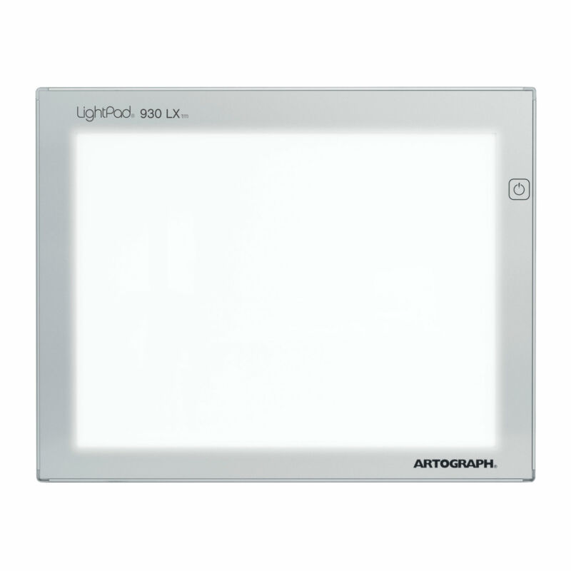 Artograph LightPad LX 930 9x12 Inch Brightness Art Tracing Light Box (Open Box)