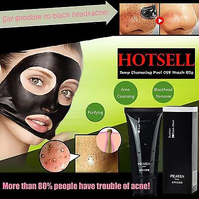 PILATEN blackhead remover,Deep Cleansing purifying peel acne  face mask- 60gTube