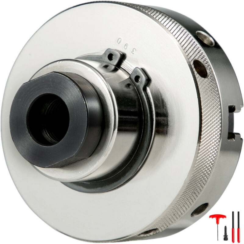 """Lathe Chuck Self-Centering Chuck 4inch 4"""" 100mm 4-Jaw with 1inch x 8TPI Thread"""