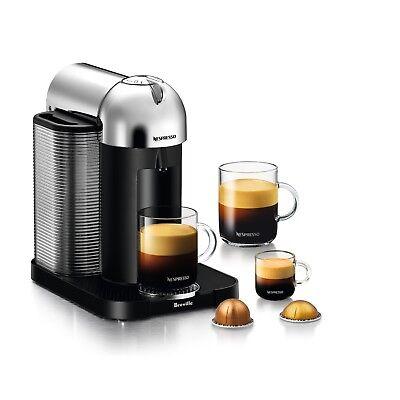 Nespresso Vertuo Chrome - Espresso & Coffee Machine
