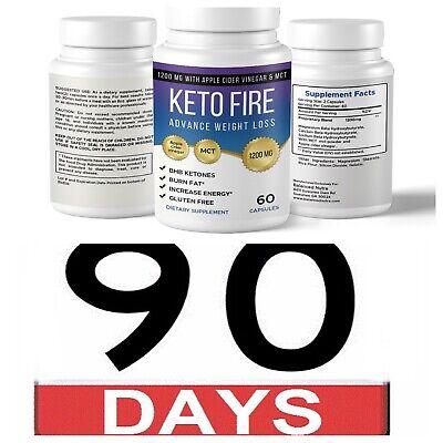 Best BHB Keto Diet Pills 1200mg  Burn Fat- Advanced Ketosis & Weight Loss 90