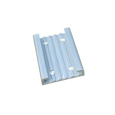 """1/"""" to 1.35/"""" Tubing or Pipe F063 Folbe Universal Rail Clamp Stanchion Fits O.D"""