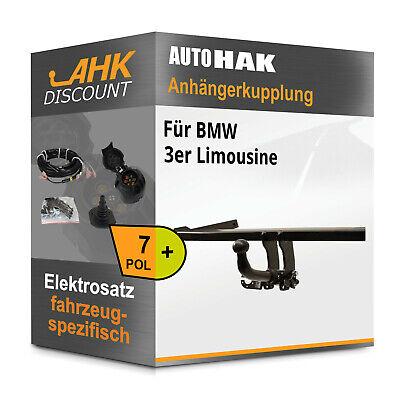 Anhängerkupplung abnehmbar für BMW 3er Coupe Elektrosatz NEU kpl inkl EBA