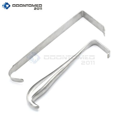"""Set Of 2 Meyerding Retractor 1"""" Wide & Hibbs Retractor 3/4"""" Surgical Instruments"""