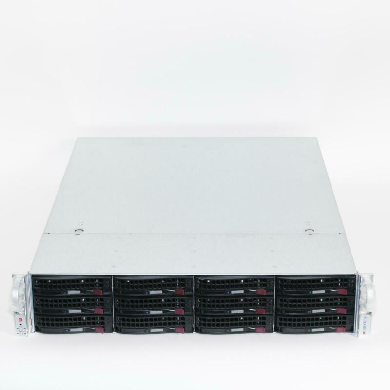 Supermicro CSE-826BE1C-R920LPB 2U Server Chassis 2x 920W 12-Bay BPN-SAS3-826EL1