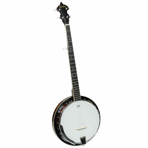 New Heartland 5 String Tenor Banjo Mahogany