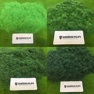 Green Ground Shades 2mm Static Grass -Model Scenery Layout Railway Wargames (Sunglasses Layout)