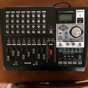 Tascam DP-01FX/CD digital portastudio 8 track with CD-ROM Herston Brisbane North East Preview