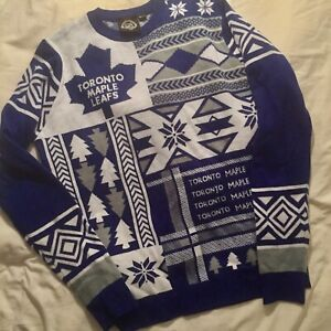 0f1e647d39b Toronto Maple Leafs ugly sweater Official NHL Large