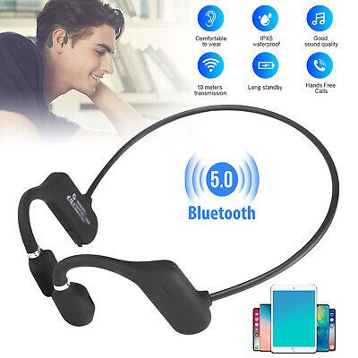 Mini Wireless Bluetooth Bone Conduction Headset Stereo Headp