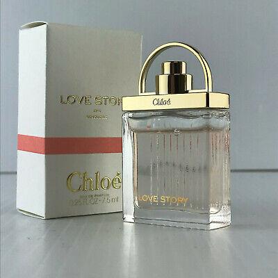 CHLOE LOVE STORY EAU SENSUEL For WOMEN SPRAY .25 OZ / 7. ML NEW IN BOX MINIATURE