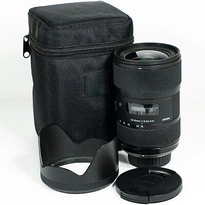 Sigma DC 18-35mm F/1.8 HSM DC Lens - Nikon DX mount  segunda mano  Embacar hacia Mexico
