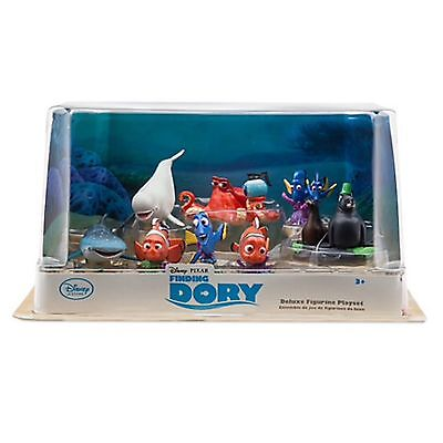 DISNEY FINDET DORIE Figuren Play SPIEL DELUXE Set Nemo Marlin Hank Bailey Jenny