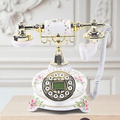 Classic body European antique vintage retro phone Rotary dial Corded telephone