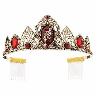 Disney Store Belle Tiara Costume Crown Halloween Princess Beauty & the Beast - Disney Princess Belle Tiara