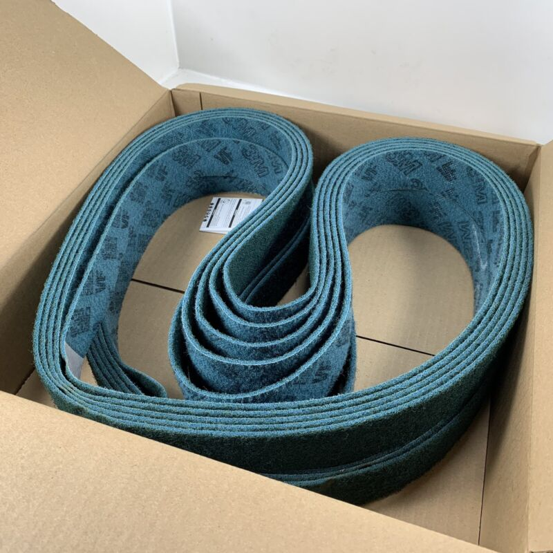 "3M Scotch Brite 00579 Surface Conditioning Belt 2"" x 72"" A VFN QTY (10) Belts"
