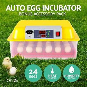 24 Egg Incubator Fully Automatic Digital LED Turning Chicken New Adelaide CBD Adelaide City Preview