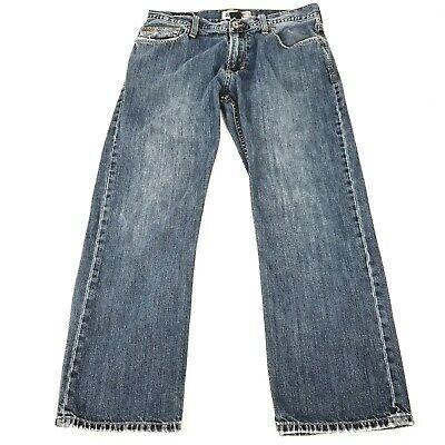 Quicksilver QuickJeans Relaxed Fit Men's Medium Wash Jeans Size 34x29