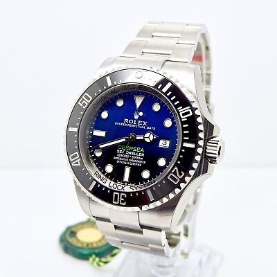 Rolex Sea-Dweller Deepsea D BLUE 126660 2018 Box & Papers BRAND NEW/UNWORN
