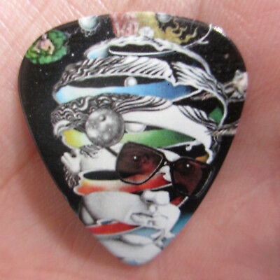 IAN HUNTER Collectors Guitar Pick; Psychedelic Once Bitten Twice Shy Album Cover