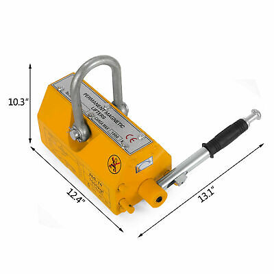 1000kg Steel Lifting Magnet Heavy Duty 2200lb Magnetic Lifter Hoist Crane 170451