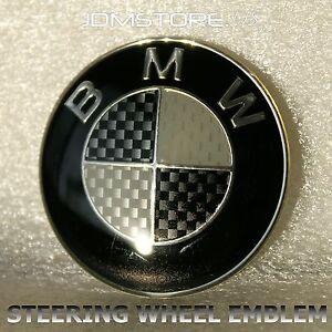 Bmw Black Emblem Sticker Ebay