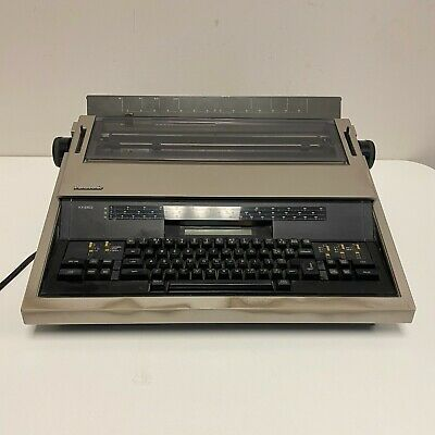 Panasonic Electric Typewriter Kx-e603 Tested And Working Light Wear