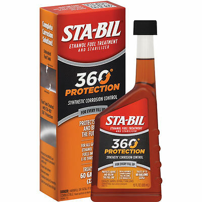 STABIL 360 Protection Ethanol Fuel Treatment & Stabilizer 22284 12oz