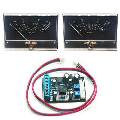 2pcs Onkyo M-5000r Hifi Amplifier Vu Panel Meter Db Level Ta7318p Driver Board