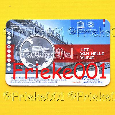 Nederland - Pays-Bas - 5 euro 2015 in blister.(Van Nelle)